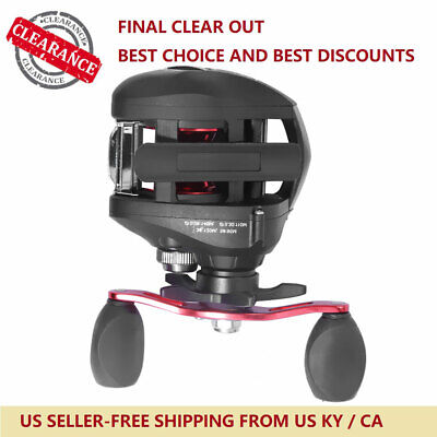 New Right Hand Freshwater Fishing Reel Replace For REVO ALX-HS Low Profile 6.3:1