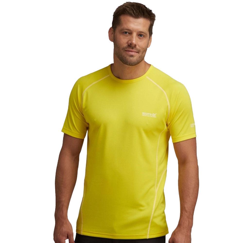 Regatta T shirt da uomo KENDRIK leggero palestra sportive da corsa da trekking