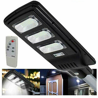 Lampione Road Light LED 90W with Solar Panel Remote control Photovoltaic