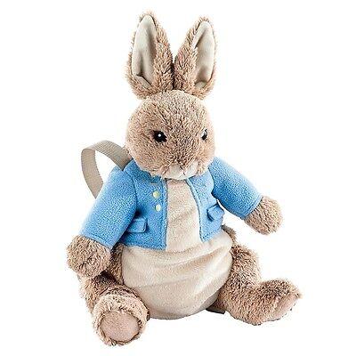 NEW OFFICIAL GUND Beatrix Potter Peter Rabbit Plush Backpack Bag Rucksack A27437