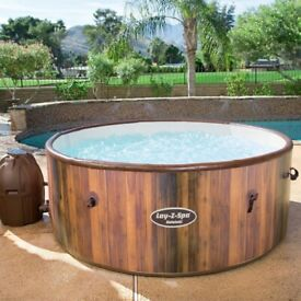 Lazy spa Helsinki hot tub