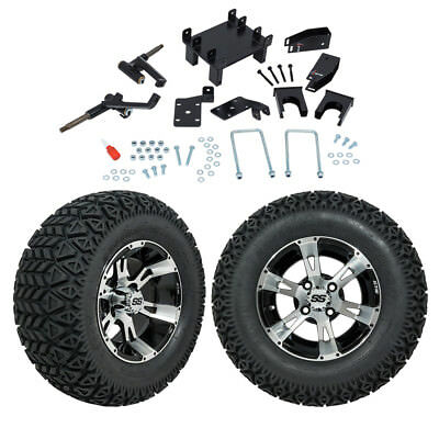 "GTW 5"" EZGO RXV Golf Cart Lift Kit With A/T Tires & 12"" Wheels Fits 2008 and Up"
