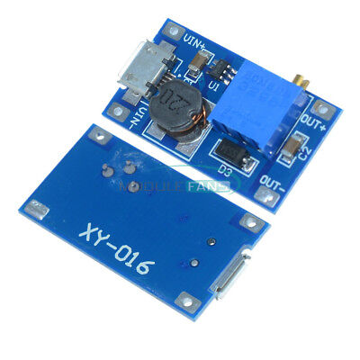 10pcs Adjustable Dc-dc Booster Step-up Module 224v To 591228v Replace Xl6009