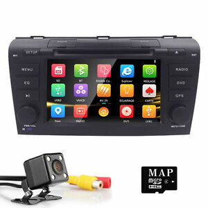 Fit Mazda 3 2004 2005 2006 2007 2008 2009 Car DVD Stereo GPS Map Radio Player US