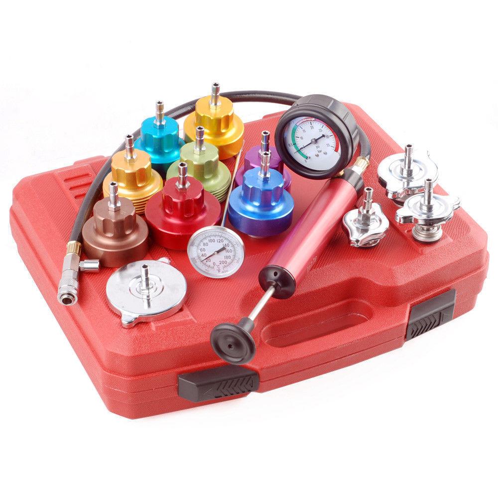 14pc Radiator Pressure Tester Kit Neilsen CT1585