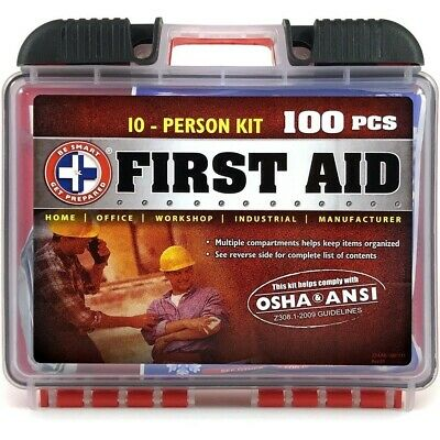 First Aid Kit Best Travel Medical Emergency Care Survival Kit For 10 Persons (Best Survival Medical Kit)