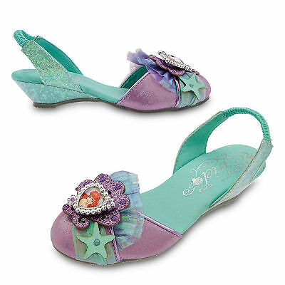 Disney Store The Little Mermaid Princess Ariel Costume Dress Shoes Girl - Disney Ariel Shoes