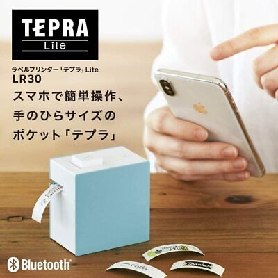 King Jim Tepra Lite Lr30 Blue Label Printer Only For Smartphone Japan Fedex Dhl