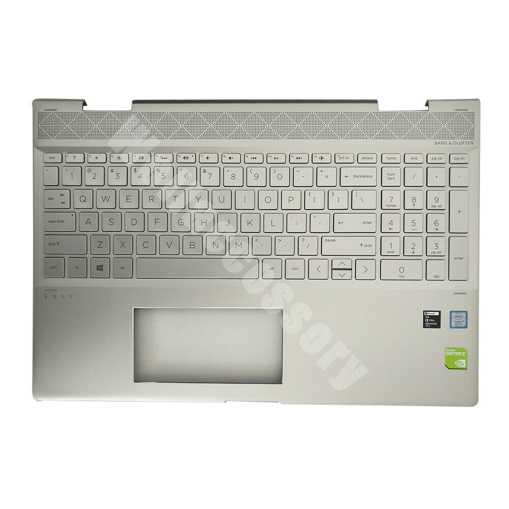 NEW For HP ENVY X360 15-CN Top Cover / Case with Keyboard 60