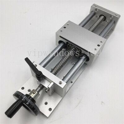 Cnc Linear Stage Module Cross Sliding Table Ballscrew Sfu1605 Milling Worktable