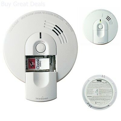 Smoke Alarm Detector Hardwire Ionization With Battery Backup AC/DC New ()
