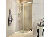 Brand New Sliding Shower Door - 1100mm