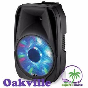 "TECHNICAL PRO PSHAKE1000LED 10"" ACTIVE BLUETOOTH LOUDSPEAKER WITH USB / SD CARD INPUTS PSHAKE1000LED"