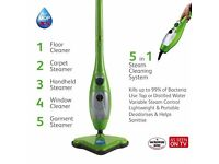 H2OX5 Steam Cleaner & acceesories