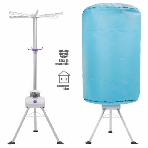 Portable Ventless Clothes Dryer Set Folding Wrinkle Laundry