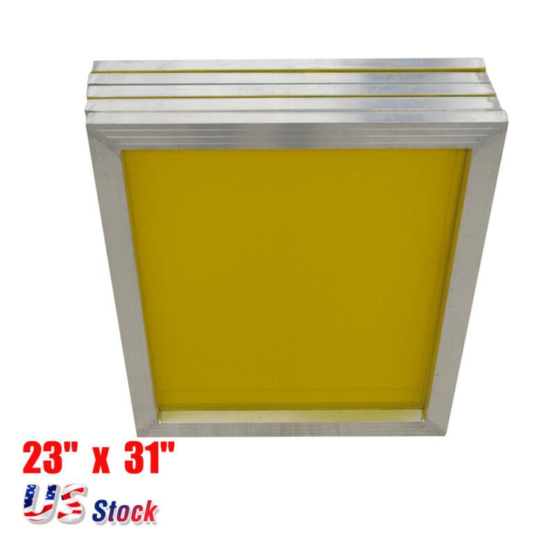 """US Stock 6pcs - Aluminum Silk Screen Frame - 230 Yellow Mesh 23"""" x 31"""""""