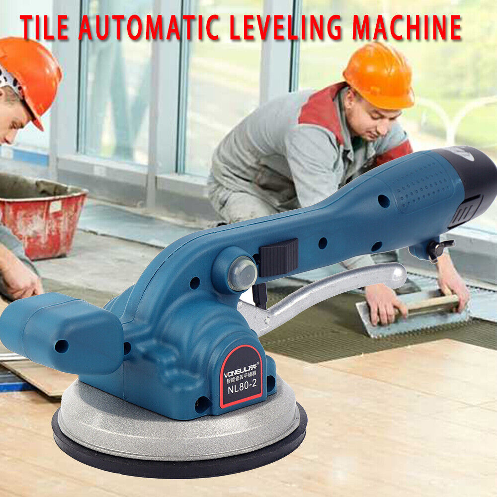 TFCFL Hand-held Tile Tiler MachineTile Professional Tiling Tool Machine Vibrator Handheld Tile Automatic Leveling Machine 400W