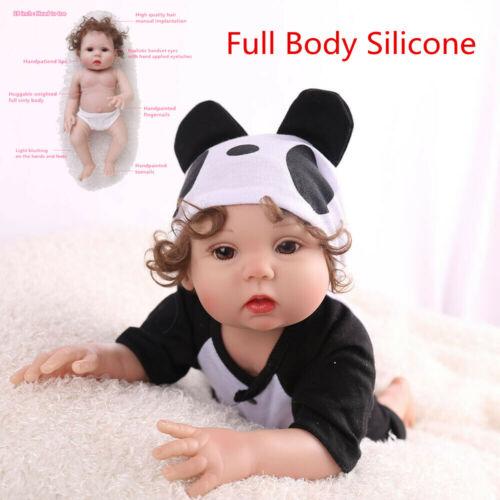 "16"" Lifelike Reborn Baby Doll Full Body Silicone Anatomicall"