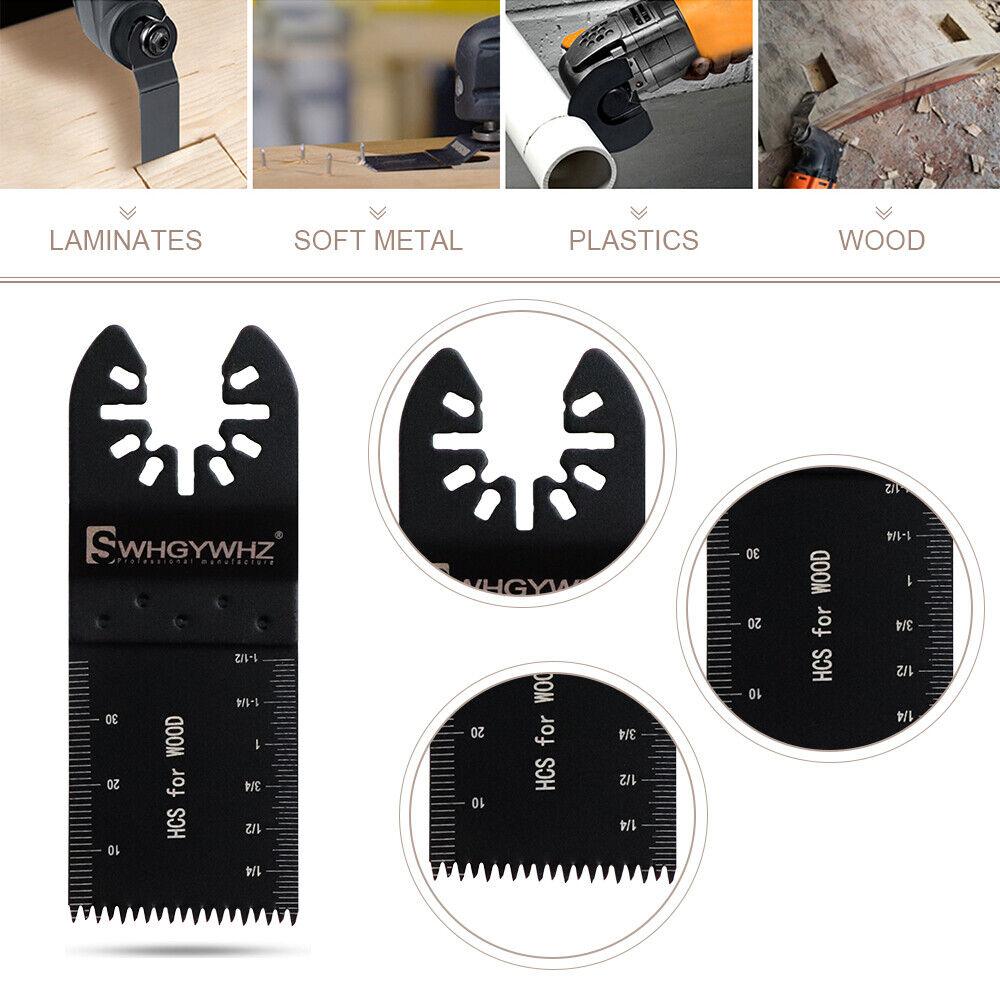 5 10 20 Saw Blades Oscillating Multi Tool for Fein Bosch Milwaukee Porter Dewalt Blades