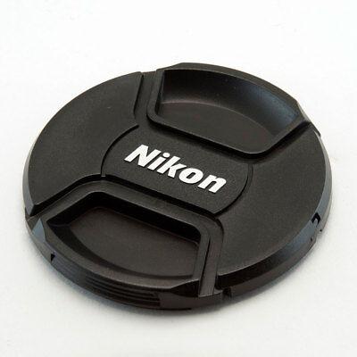 NIKON LC-77 STYLE 77MM CENTRE PINCH CLIP ON LENS CAP FOR NIKON GENERIC