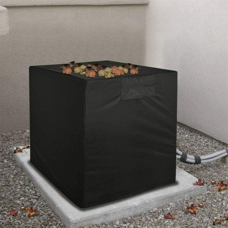 Square Outdoor Air Conditioner Cover - A/C Unit Winter Weath