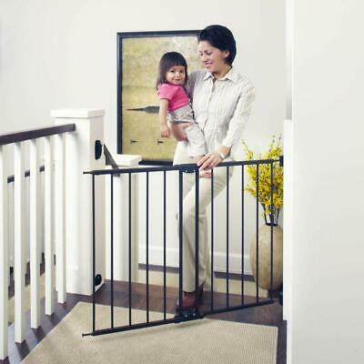 "Toddleroo by North States 47.85"" Wide Easy Swing & Lock Baby Gate: Ideal for and"