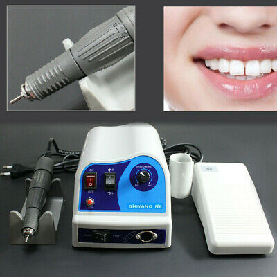 Dental Lab Electric Polishing Polisher Micromotor N845000 Rpm Handpiece Shiyang