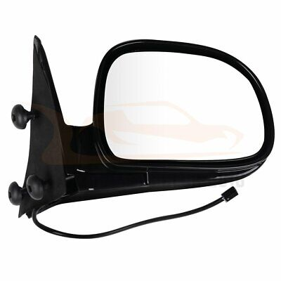 For 1994-97 Chevrolet S10 95-97 Blazer Truck RH Side Power Black Mirror