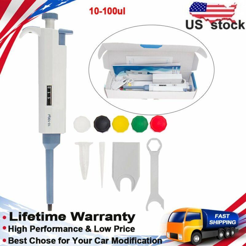 Micro Pipette Pipettor Adjustable Variable Liquid Handling Transfer 0.1ul-10ml