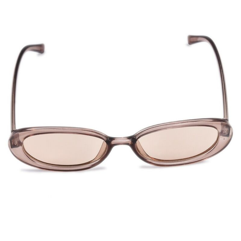 Women Sunglasses Small Oval Frame Vintage Glasses Trendy Fashion Retro Shades