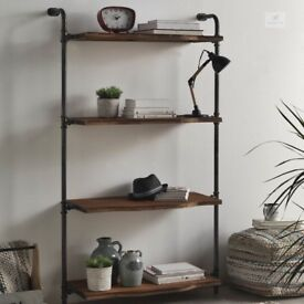 Industrial Bookcase - Made of Steel