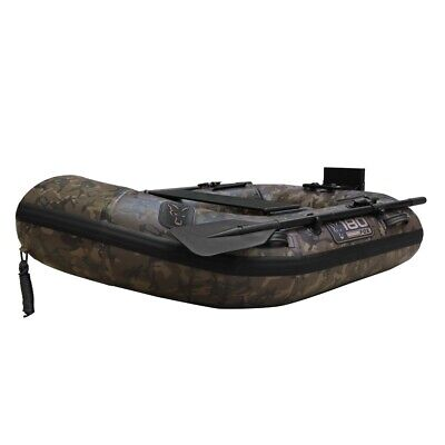 Fox 180 Inflatable Boat With Slat Floor *Green Or Camo* Fishing Boat NEW