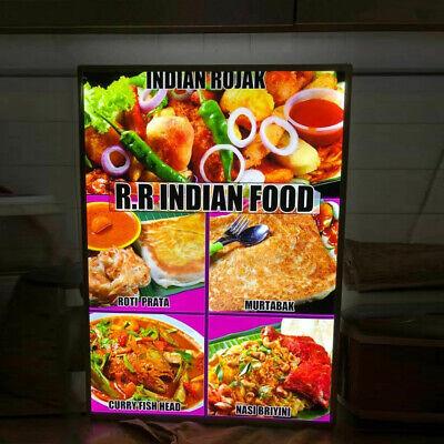 A1a2a3a4 Advertising Display Sign Led Restaurant Light Box Led Menu Board