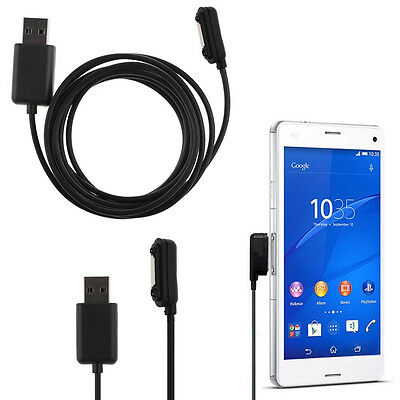 1M Magnetic USB Charger Charging Cable Adapter For Sony Xperia Z1 Z2 Z3
