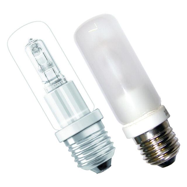 Halogen Leuchtmittel E27 MATT & Klar Glühbirne Osram Halolux Ceram Eco Röhre