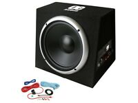 12 Inch 1300W Active Car Subwoofer Sub Bass Box Amplified Speaker Car Audio Stereo Installation £89