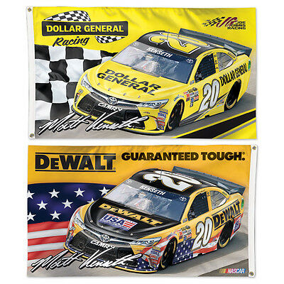 Matt Kenseth Dollar General Dewalt 2 Sided Flag 3 X 5 Nascar