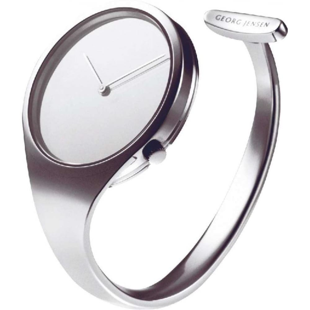 W A N T E D Georg Jensen Vivianna Bangle Mirror Stainless Steel Watch 500 Cash Waiting