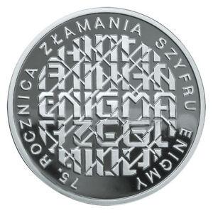 10 zł , the 75th anniversary of breaking Enigma , 2007 - Elk, Polska - 10 zł , the 75th anniversary of breaking Enigma , 2007 - Elk, Polska