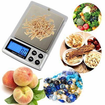0.1g - 1Kg Kitchen New Digital Weighing Jewelry Diamond Weigh Pocket Scale