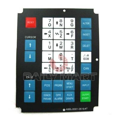 Fanuc New A98l-0001-0518 Keysheet Membrane Keypad For 32 Key