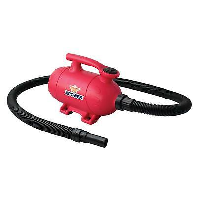XPOWER B-2 Pro at Home 2 HP Pet Grooming Blower Dog Force Dryer & Vacuum- Pink