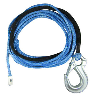 7MM-X-10M-Dyneema-SK75-Winch-Rope-Snap-Hook-4x4-4wd-Boat-Marine-Cable-Webbing