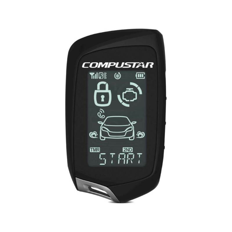 Compustar 2WT10R-SS 2-Way 1-Mile Range LCD Confirmation Replacement Remote Only