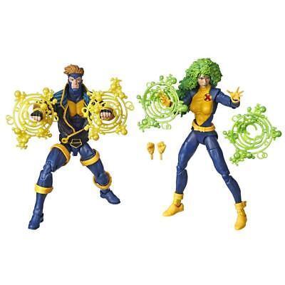"Hasbro Marvel Legends Series 6"" Collectible 2-Pack X-Men Toys,Marvel's Polaris"