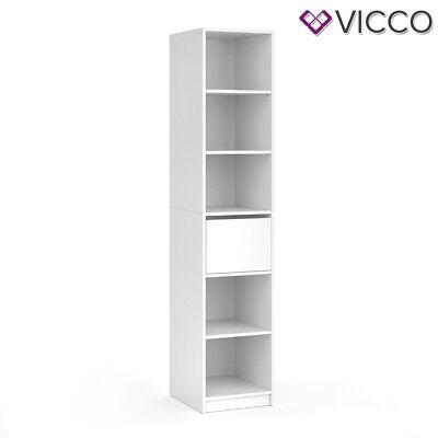 Vicco Schrank VISIT - Regal Schlafzimmer Umkleide Erweiterung geteilt Schublade