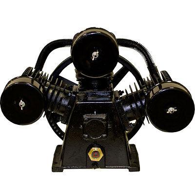 5 Hp Air Compressor Pump 145 Psi Laplante Lpw6548a 3 Cylinder W Configuration