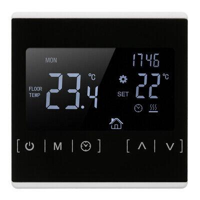 LCD Digital Thermostat Raumthermostat FußBodenheizung Wandheizung Weiß 1 New