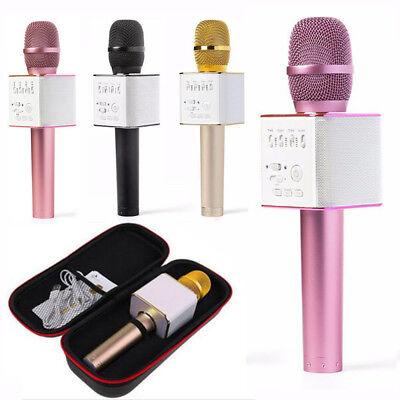 Q9 Wireless Bluetooth Cell Phone Karaoke Microphone USB Speaker Mini Home KTV