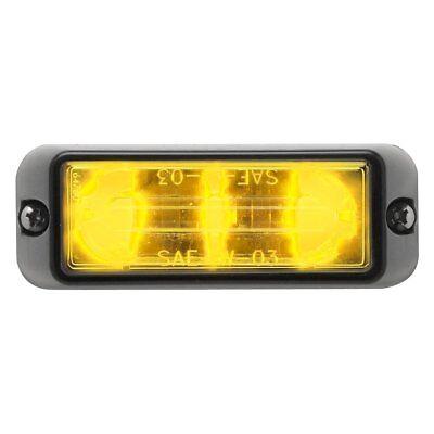 Whelen Linear3 Led Lighthead - Clear Lens W Amber Led - Model Rsa02zcr